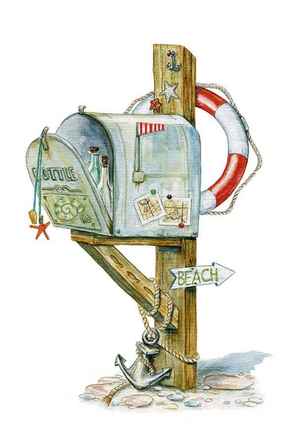 Marine mailbox